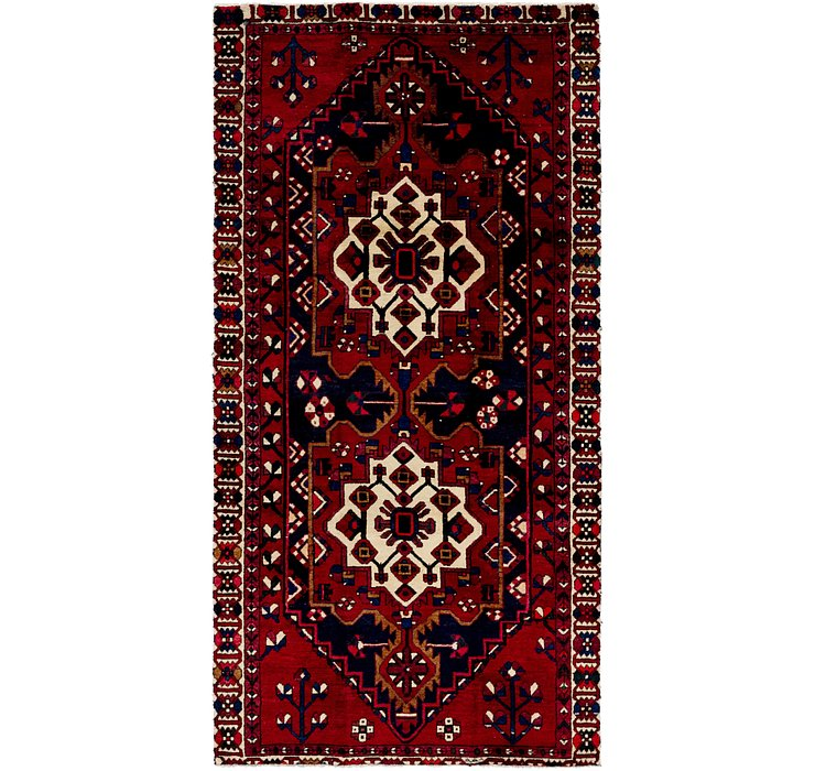 4' 9 x 9' 4 Bakhtiar Persian Runner...