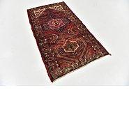 Link to 3' 6 x 6' 5 Hamedan Persian Rug