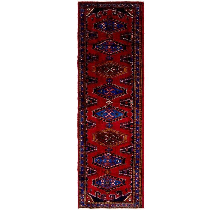 3' 10 x 13' 2 Viss Persian Runner Rug