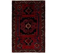Link to 4' 3 x 6' 10 Khamseh Persian Rug