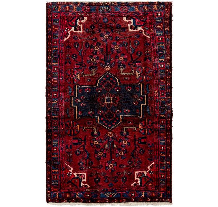 4' x 6' 8 Hamedan Persian Rug