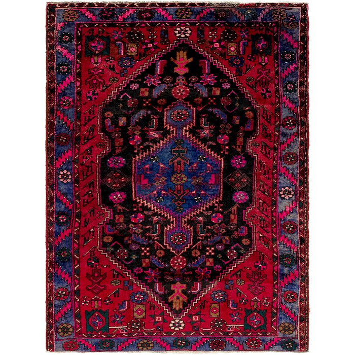 4' 9 x 6' 8 Zanjan Persian Rug