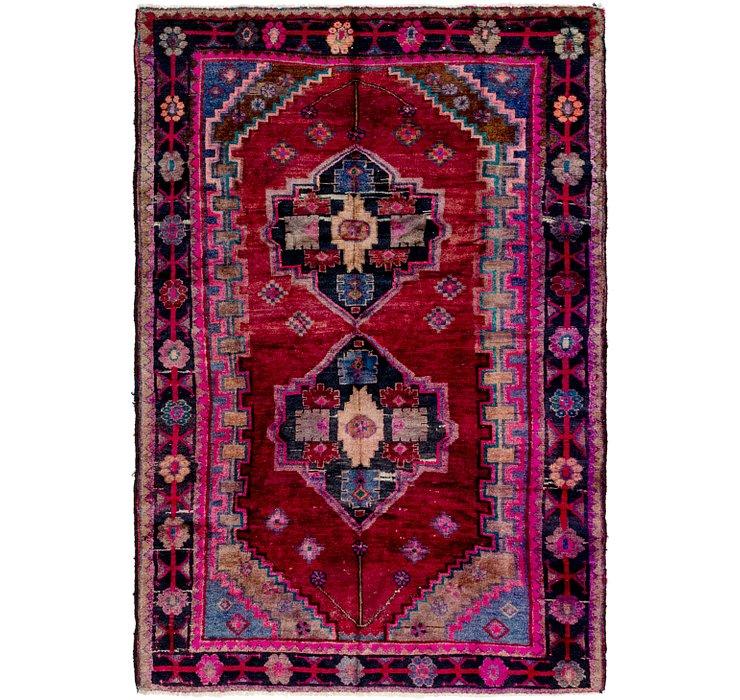 5' 2 x 7' 7 Hamedan Persian Rug