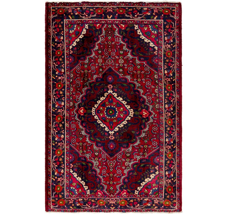 4' 4 x 6' 10 Gholtogh Persian Rug
