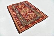 Link to 4' 8 x 6' Shiraz-Lori Persian Rug