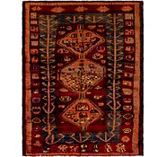 Link to 142cm x 183cm Shiraz-Lori Persian Rug