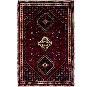 Link to 4' 5 x 6' 10 Shiraz Persian Rug