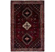 Link to 135cm x 208cm Shiraz Persian Rug