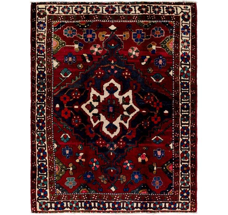 5' x 6' 6 Bakhtiari Persian Rug