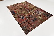 Link to 198cm x 285cm Ultra Vintage Persian Rug