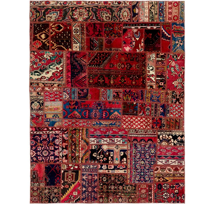 6' 4 x 8' 5 Ultra Vintage Persian Rug