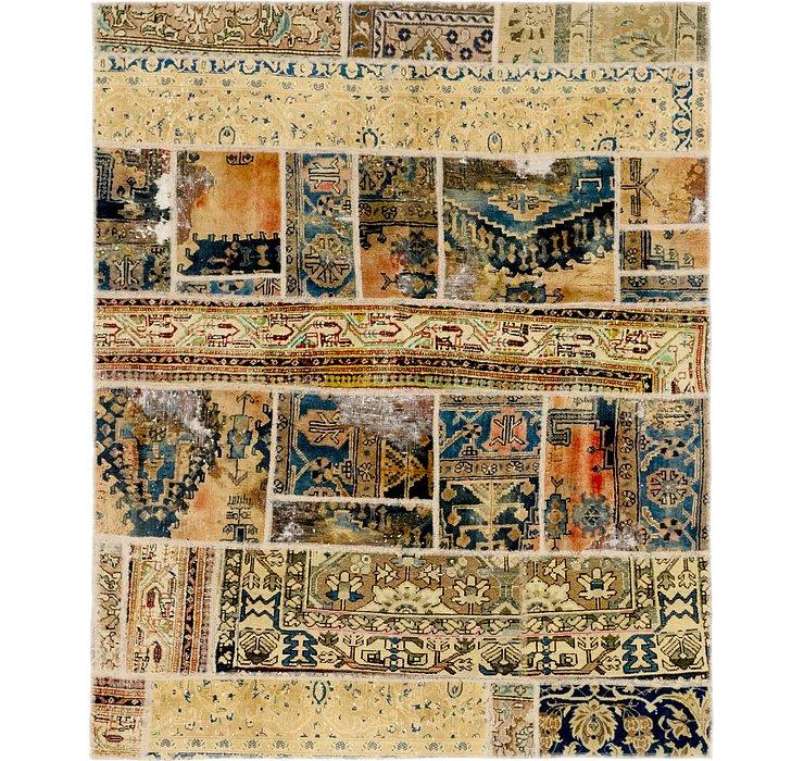 5' 8 x 7' Ultra Vintage Persian Rug