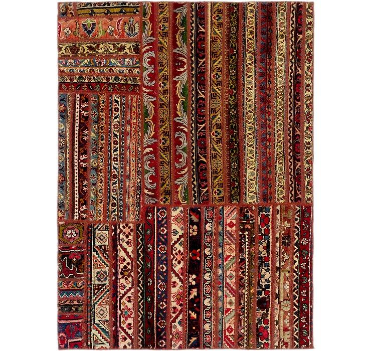 4' 8 x 6' 4 Ultra Vintage Persian Rug