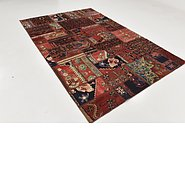 Link to 6' 3 x 9' 2 Ultra Vintage Persian Rug