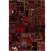 Link to 190cm x 270cm Ultra Vintage Persian Rug