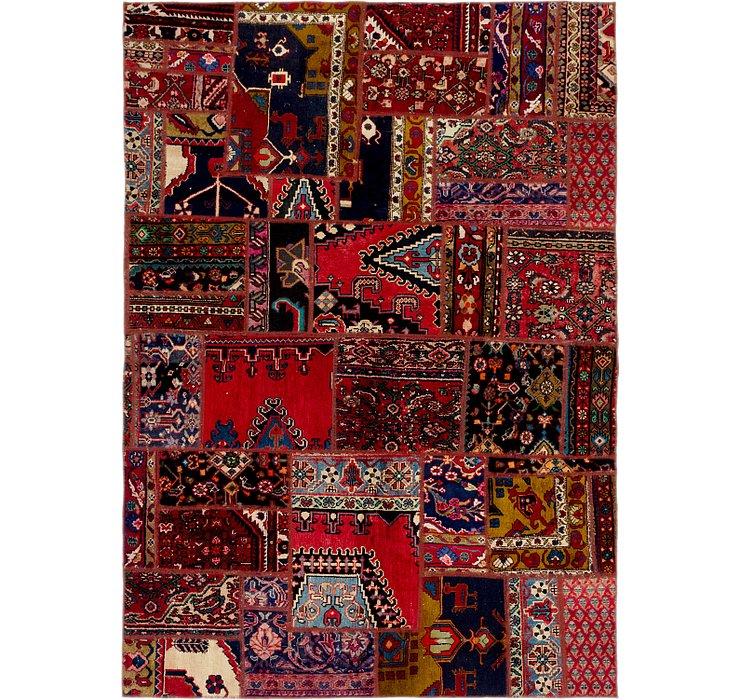 6' 3 x 8' 10 Ultra Vintage Persian Rug