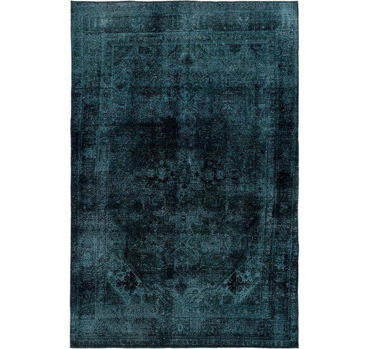 6' 4 x 9' 7 Ultra Vintage Persian Rug