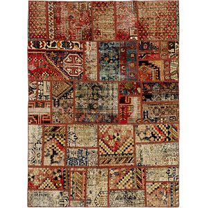 Link to 168cm x 230cm Ultra Vintage Persian Rug item page