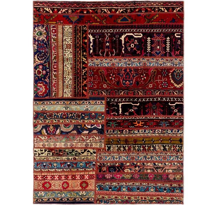 4' 7 x 6' 3 Ultra Vintage Persian Rug