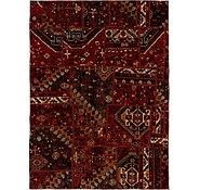 Link to 160cm x 218cm Ultra Vintage Persian Rug