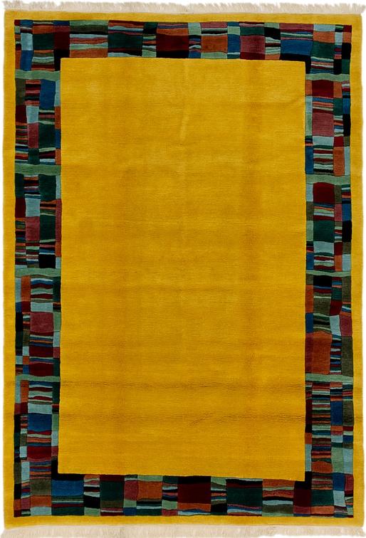 Yellow  6' 7 x 9' 6 Nepal