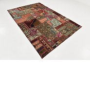 Link to 195cm x 292cm Ultra Vintage Persian Rug
