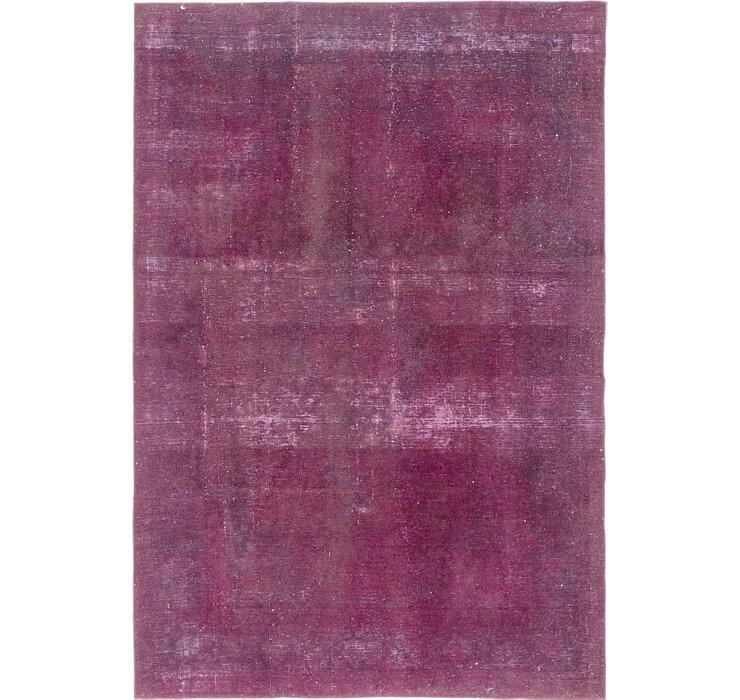 6' 6 x 9' 8 Ultra Vintage Persian Rug