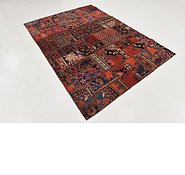Link to 6' 6 x 8' 10 Ultra Vintage Persian Rug