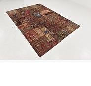 Link to 6' 9 x 9' 4 Ultra Vintage Persian Rug