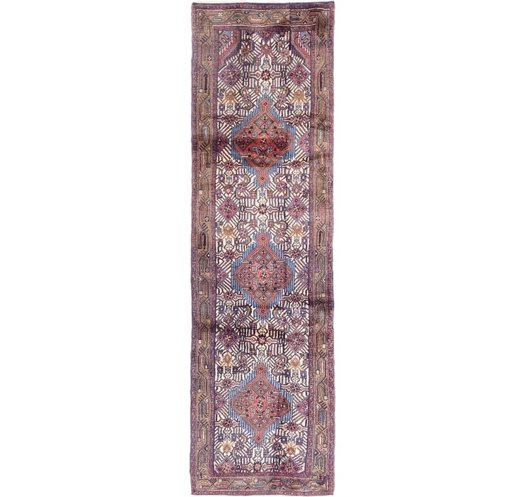 2' 6 x 8' 8 Darjazin Persian Runner...