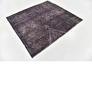 Link to 163cm x 183cm Ultra Vintage Persian Square Rug