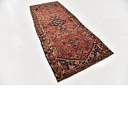 Link to 3' 8 x 9' Hossainabad Persian Runner Rug