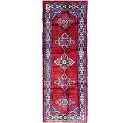 Link to 105cm x 280cm Hamedan Persian Runner Rug