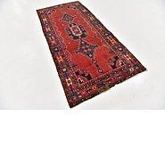 Link to 3' 10 x 8' 5 Hamedan Persian Runner Rug