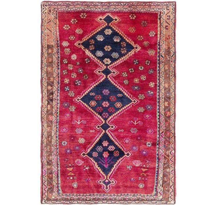 4' 9 x 7' 2 Koliaei Persian Rug