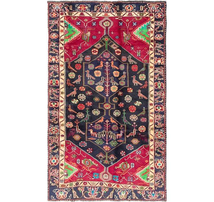 4' 2 x 7' Koliaei Persian Rug