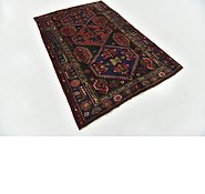 Link to 4' 5 x 6' 10 Hamedan Persian Rug