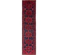 Link to 107cm x 435cm Hamedan Persian Runner Rug