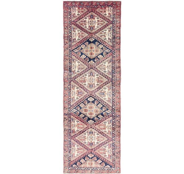 3' x 9' 2 Chenar Persian Runner Rug