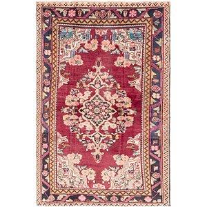 4' 5 x 6' 10 Farahan Persian Rug