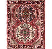 Link to 4' 10 x 6' 6 Shiraz Persian Rug