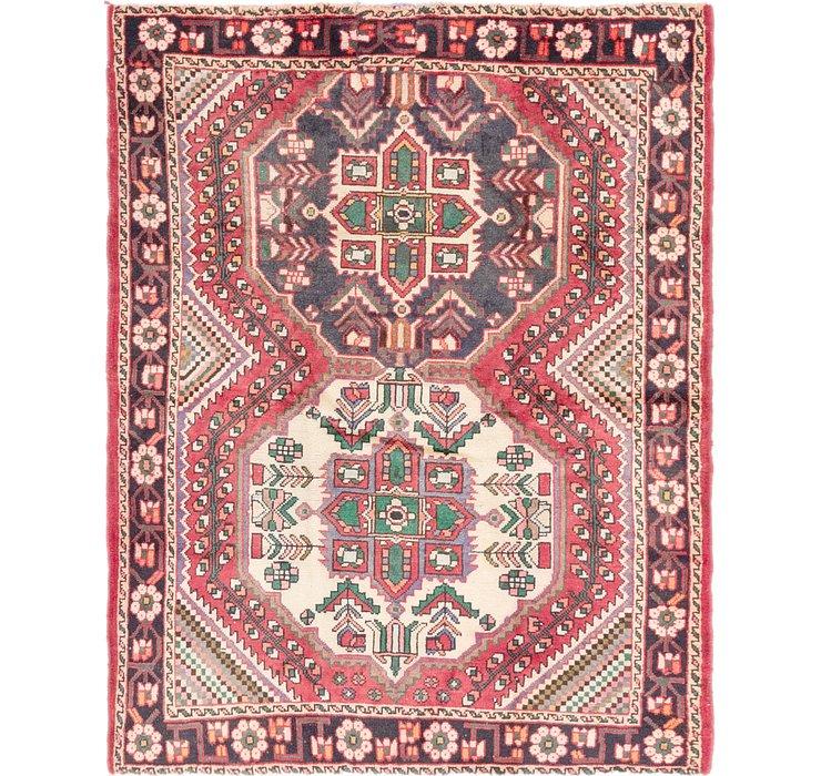 4' 10 x 6' 6 Shiraz Persian Rug