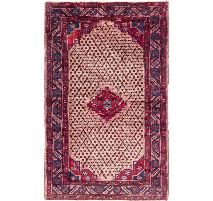 4' 2 x 6' 9 Koliaei Persian Rug