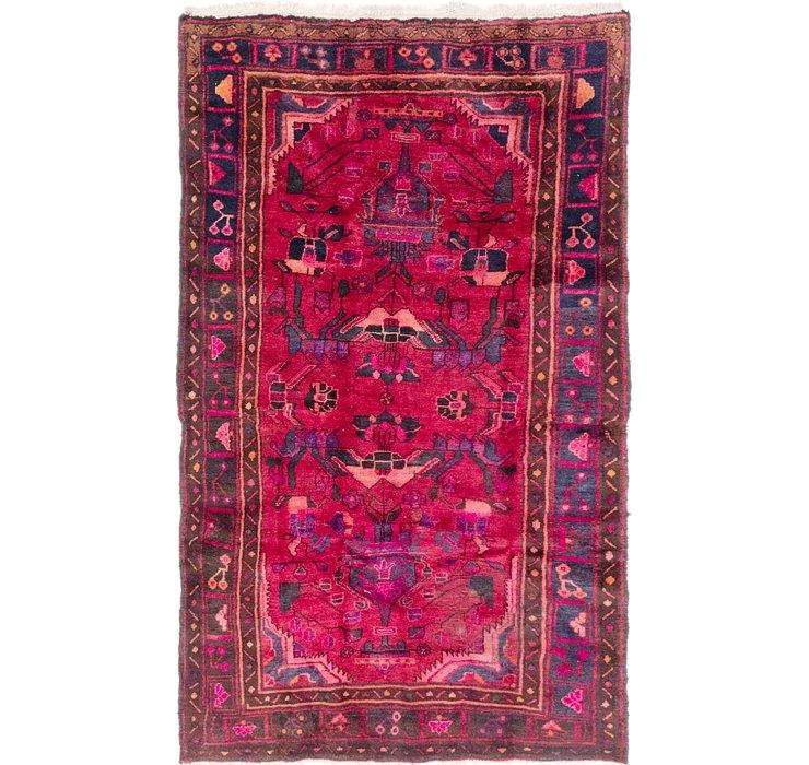 4' 7 x 8' Hamedan Persian Rug