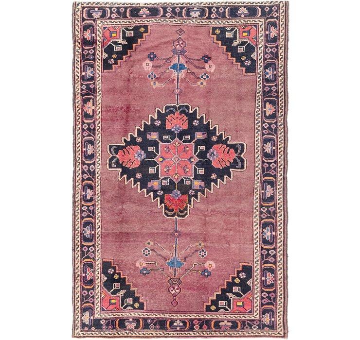 4' 9 x 7' 8 Hamedan Persian Rug