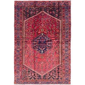 4' 2 x 6' 2 Zanjan Persian Rug