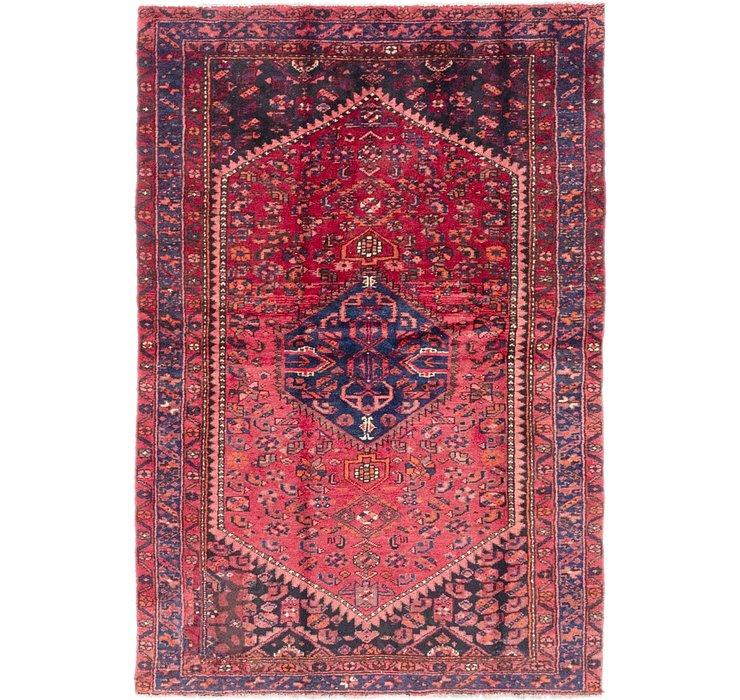127cm x 188cm Zanjan Persian Rug