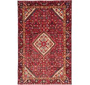 Link to 135cm x 208cm Hossainabad Persian Rug