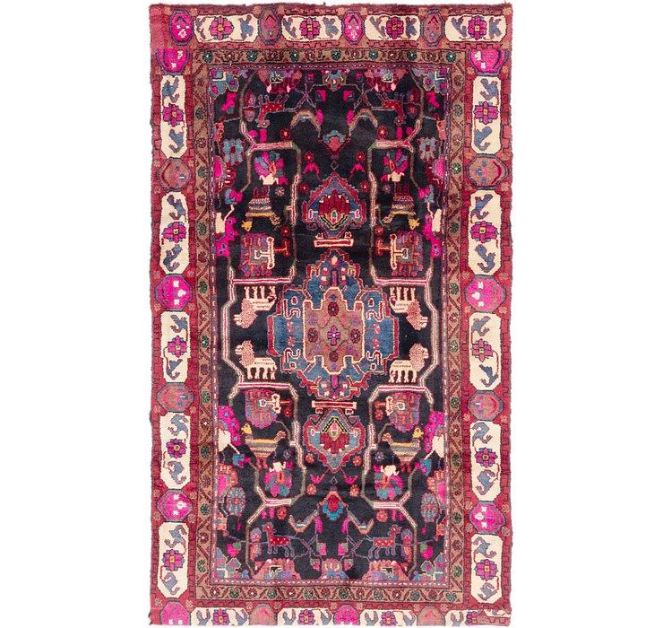 5' x 9' Nahavand Persian Rug