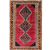 Link to 147cm x 220cm Shiraz-Lori Persian Rug